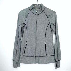 GAP Bodyfit Full Zip Jacket  Medium Pinstripes